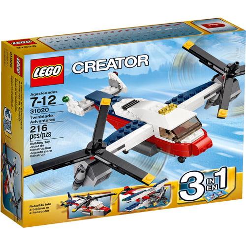 LEGO Creator Twinblade Adventures Building Set
