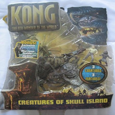 King Kong 8Th Wonder Of The World   Creatures Of Skull Island