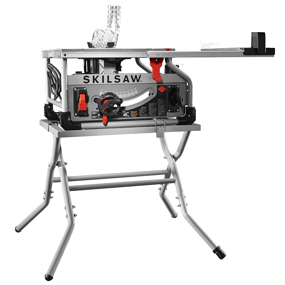 """Skil SPT70WT-22 10"""" Worm Drive Table Saw w  Diablo Blade and Stand by SKIL POWER TOOLS"""