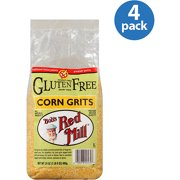Bob's Red Mill Gluten Free Corn Grits, 24 oz (Pack of 4)