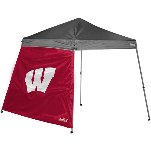 Coleman 10' x 10' Slant Leg Canopy Side Wall, Wisconsin Badgers