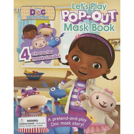 Disney Doc McStuffins Pop-Out Mask Book