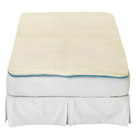 Contour Cloud Memory Foam Mattress Pad: Twin Size Bed