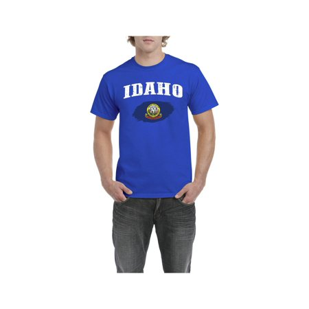 Idaho State Flag Men Shirts T-Shirt Tee