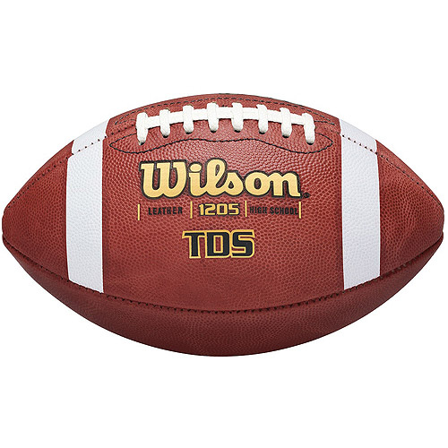 Wilson Traditional Game Football by Wilson Sporting Goods