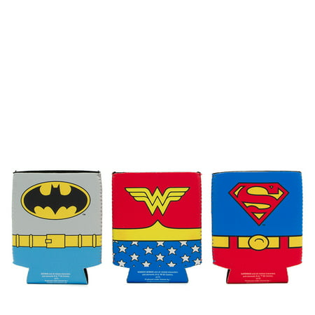 (2 Pack) Silver Buffalo Superhero Assorted Can - Superhero Party Ideas