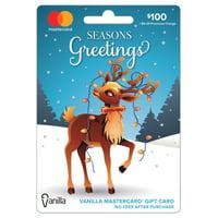Vanilla MasterCard Reindeer $100