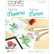 Coloring Foundations, Coloring Flowers by Marianne Walker, 8 Flower Tutorials