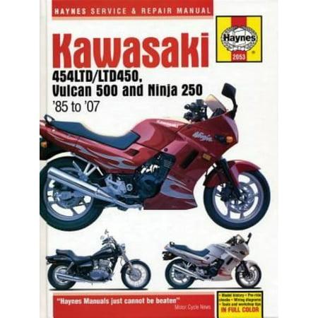 Haynes Kawasaki 454Ltd Ltd450  Vulcan 500 Ninja 250 85 To 07 Service Repair Manual