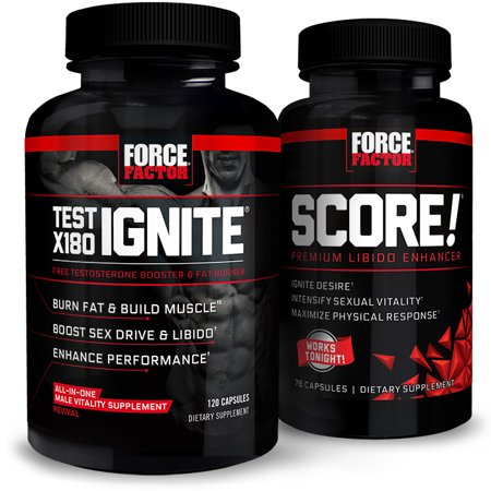 Force Factor Rise Up Stack to Ignite Desire, Increase Drive, & Improve (Best Testosterone Stack 2019)