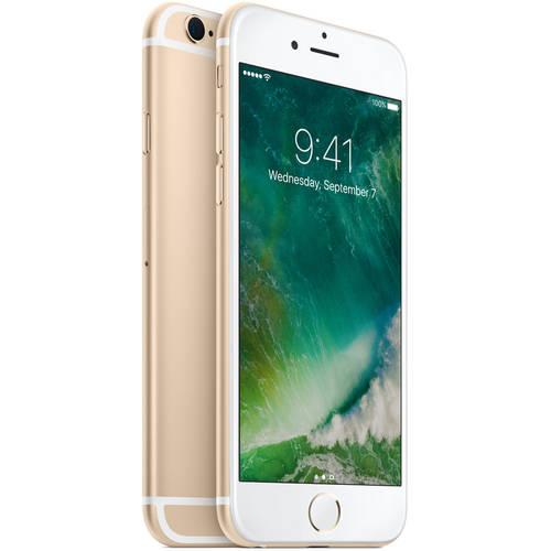 Straight Talk Apple iPhone 6S 16GB Prepaid Smartphone, Gold