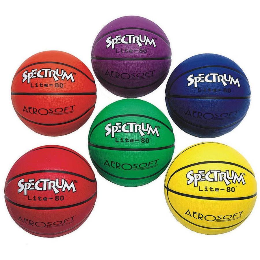 S&S Worldwide Spectrum Lite-80 Basketball, Pack of 6 by S&S Worldwide
