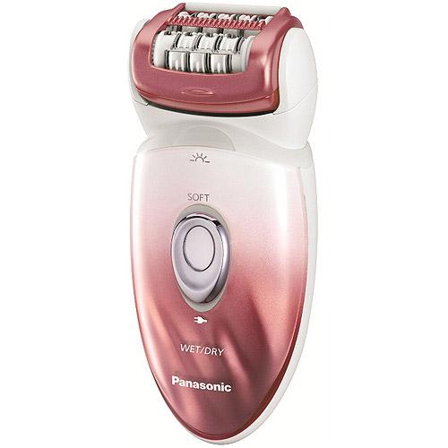 Panasonic Ladies Wet/Dry Rechargeable Epilator & Shaver, ES-ED90-P
