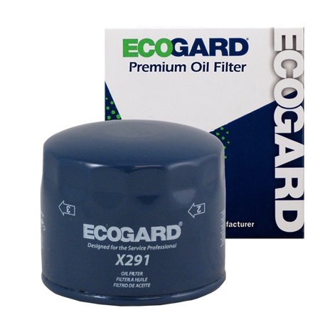 ECOGARD X291 Spin-On Engine Oil Filter for Conventional Oil - Premium Replacement Fits Honda Civic, Accord, Prelude, Wagovan / Acura Integra (Honda Civic Oil)