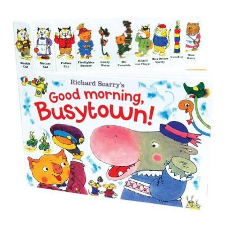 Richard Scarry's Good Morning, Busytown! (Board
