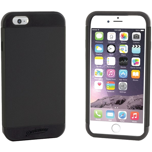 Devicewear DUR-IPH6-BLK Apple iPhone 6/6s Durus Case, Black