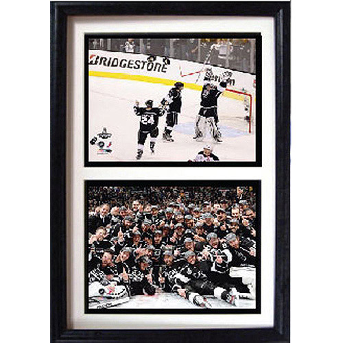 NHL Los Angeles Kings Champions Double Custom Frame, 12x18