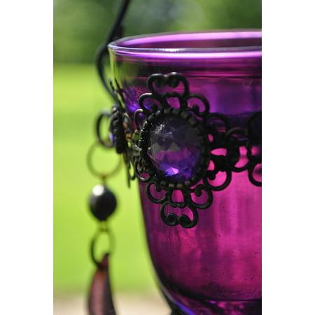 Laminated Poster Decorative Glass Ornament Decoration Vase Design