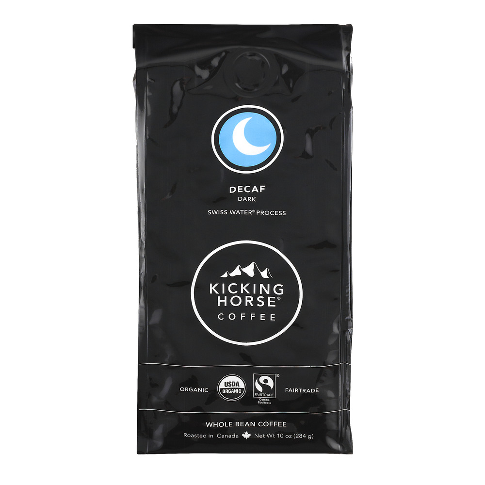Kicking Horse Coffee Decaf Dark Whole Bean, 10.0 OZ
