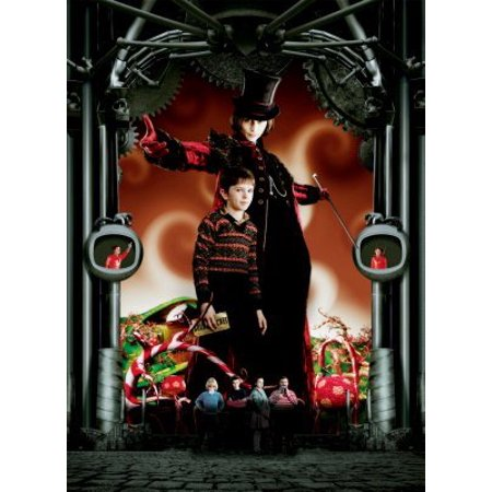 Charlie And Chocolate Factory Costume (Charlie And The Chocolate Factory Mini Poster 11x17 Art decor incl. mail/storage)
