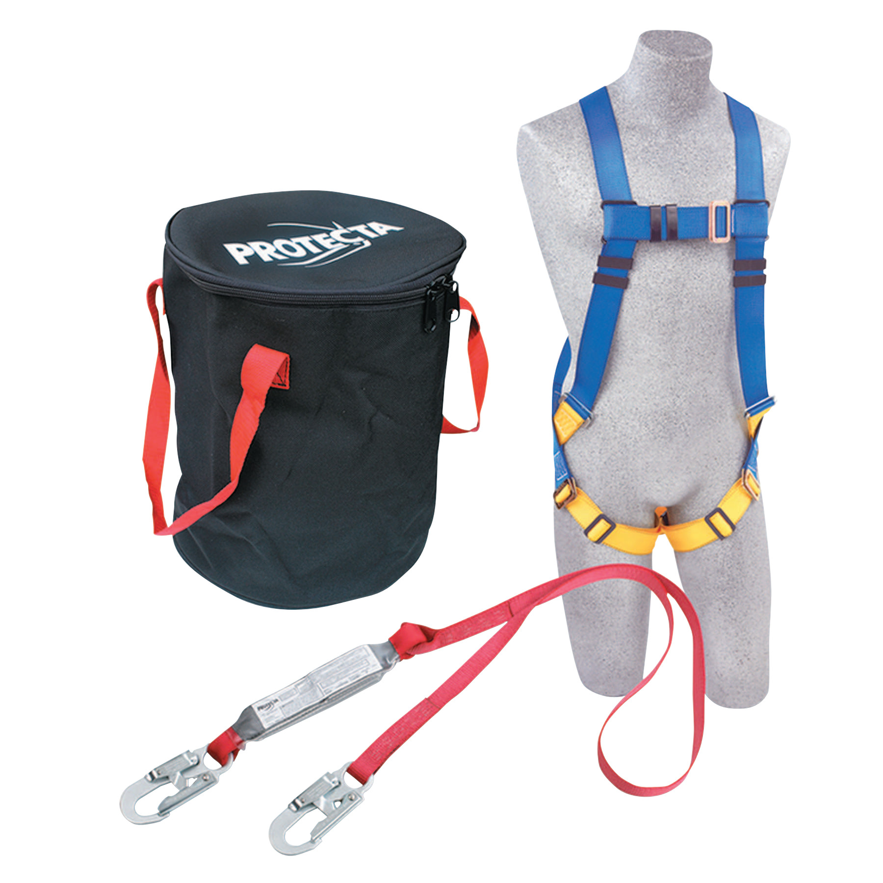 DBI-SALA Protecta Compliance-In-A-Can Roofer's Fall Protection Kit, Harness; Anchorage