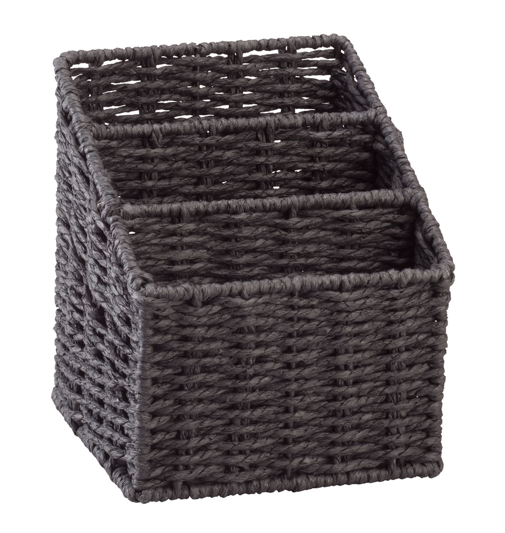 Wicker Letter Sorting Basket by WalterDrake