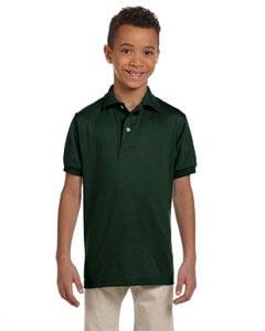 Jerzees Youth 5.6 oz. SpotShield™ Jersey Polo