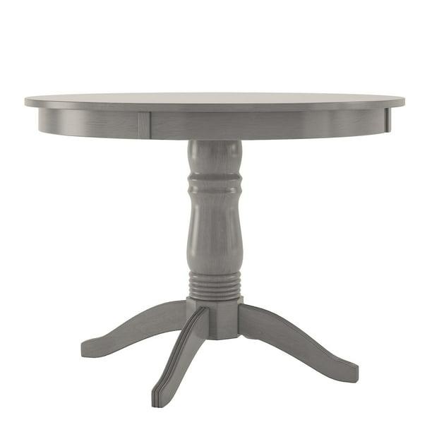 Lexington 42 Round Wood Pedestal Base, 42 Round Table