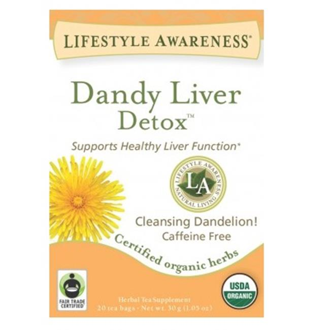 Tadin BCA51934 Og2 Dandy Liver Tea, 6 x 20 Bag