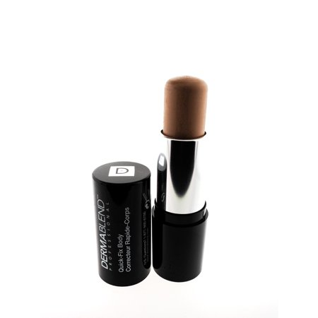 dermablend quick-fix body makeup full coverage foundation stick, 35w tan, 0.42