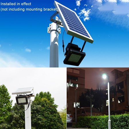 Outtop Solar Flood Light 54 Led 6w Outdoor Waterproof Safety