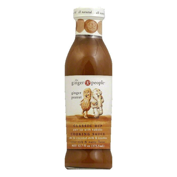 The Ginger People Ginger Peanut Sauce, 12.7 OZ (Pack of 6)