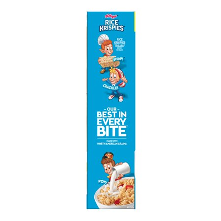 Best Kellogg's Rice Krispies Breakfast Cereal Fat-Free Family Size 24 oz deal