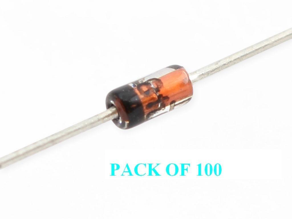 1N4148   Universaldiode  100 Volt  200mA  DO-35  Universaldiode Philips