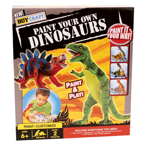 Paint Your Own Dinosaurs Kit