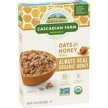 Breakfast Cereal: Cascadian Farms Oats & Honey
