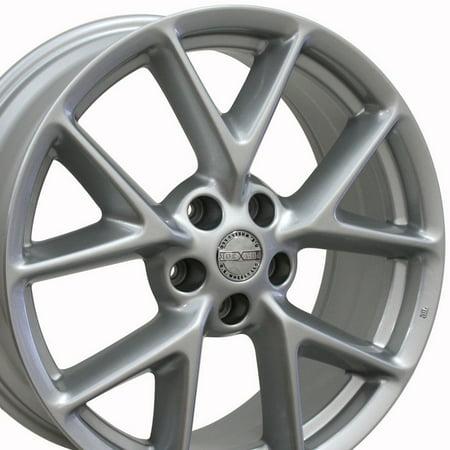 Rims Fit (19x8 Wheel Fits Nissan, Infiniti - Nissan Maxima Style Silver Rim, Hollander 62512 )