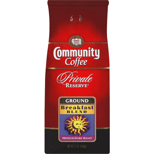 Community Private Reserve Breakfast Blend Ground Coffee, 12 oz