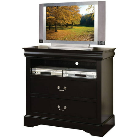 ACME Louis Philippe III Black TV Console for Flat Screen TVs up to 40″
