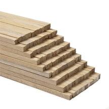 Hardwood Square Dowel - 100 Pcs 1/4