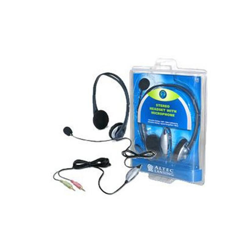 Altec Lansing STEREO HEADSET WITH MICROPHONE , MODEL AHS3...