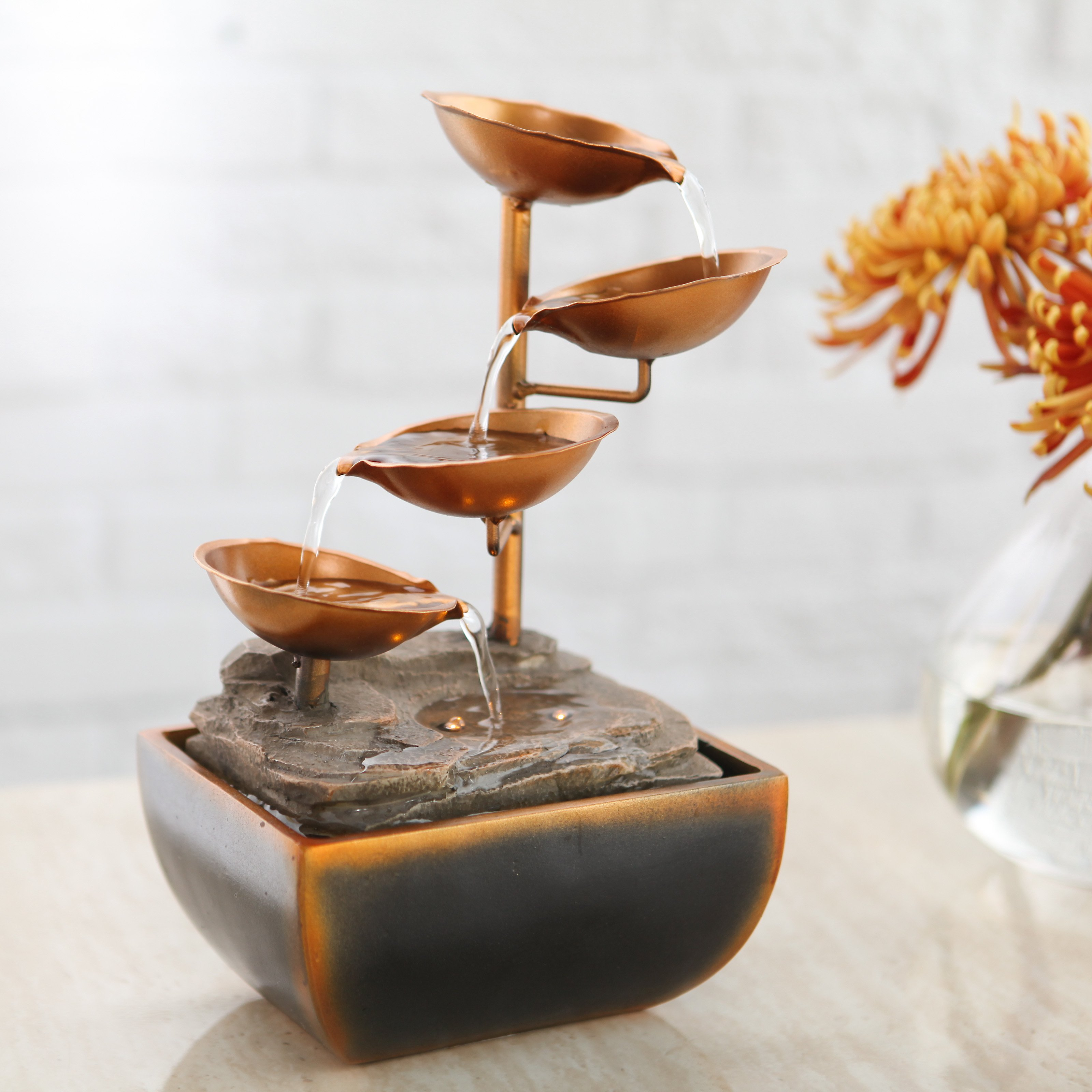 Sacco Tabletop Fountain by Bond Manufacturing