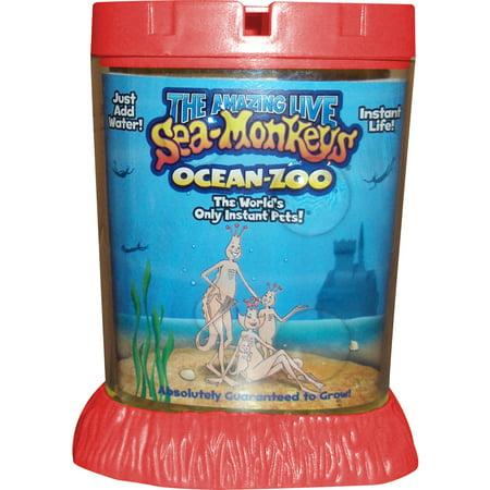 Big Time Toys The Amazing Live Sea Monkeys Kit Ocean Zoo - Toy Aquarium
