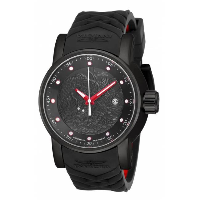 Invicta 18213 Mens S1 Rally Automatic Chronograph Dial Watch - Black - image 1 of 1