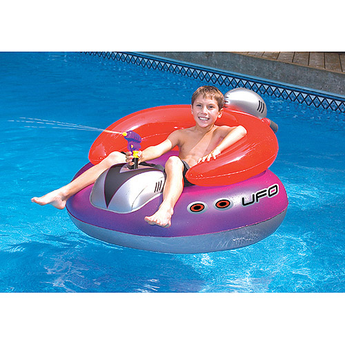 UFO Spaceship Inflatable Pool Toy by INTERNATIONAL LEISURE PRODUCTS