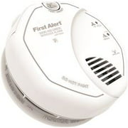 First Alert SCO500B Wireless Interconnected Photoelectric Smoke and Carbon Monoxide Combo Alarm with Voice and Location