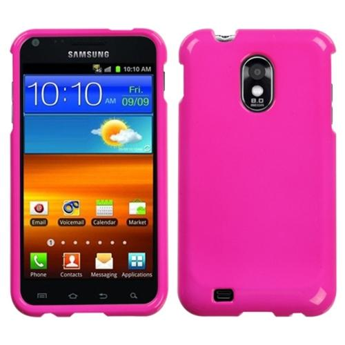 Insten Solid Shocking Pink Phone Case for SAMSUNG: D710 (Epic 4G Touch), R760 (Galaxy S II), Galaxy S II 4G