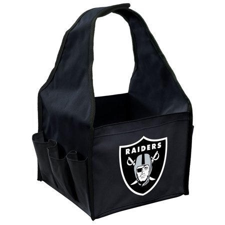 Oakland Raiders Imperial BBQ Caddy - Black - No Size