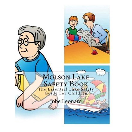 Molson Lake Safety Book  The Essential Lake Safety Guide For Children