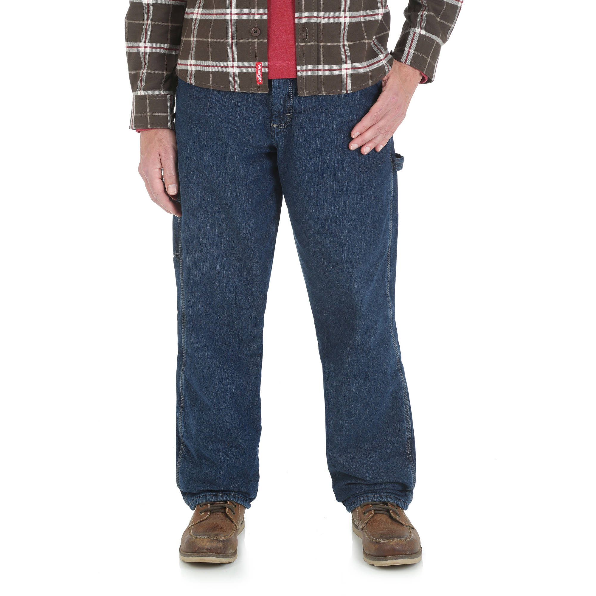 Wrangler Men's Fleece Lined Carpenter Jean - Walmart.com